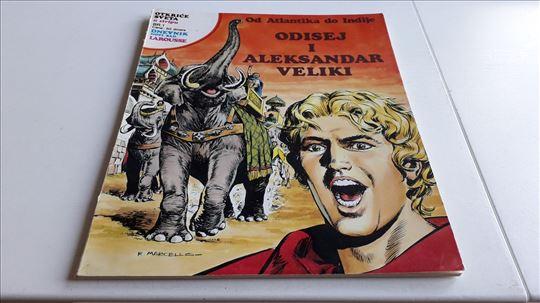 Otkrice sveta u stripu Odisej i Aleksandar Veliki