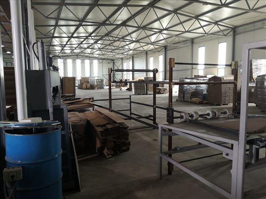 Proizvodna hala i poslovni prostor Nova Pazova