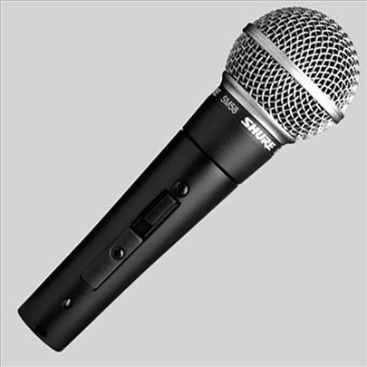 SHURE žični mikrofon profesionalni