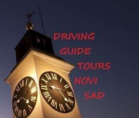 Driving guide tours Novi Sad