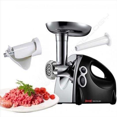 El. mašina za mlevenje mesa i ceđenje parajza