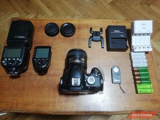 Nikon D3200 + 40mm, f2.8 + blic + softbox