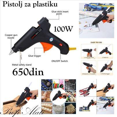 Pištolj za plastiku 100w