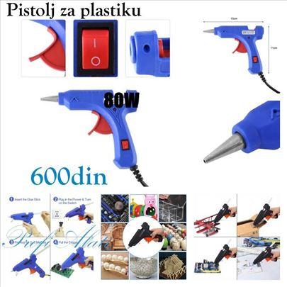 Pištolj za plastiku 80w