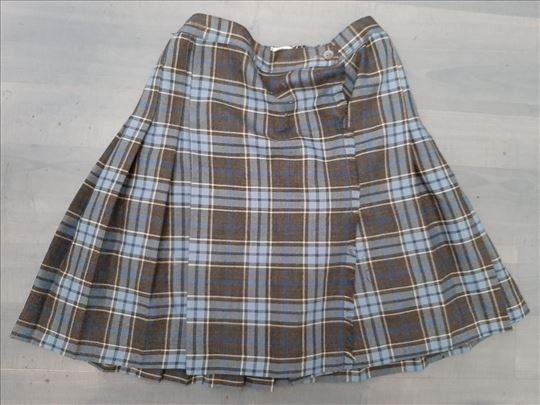 ARC EN CIEL suknjica skotska,plisirana ,uzrast 9 g