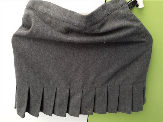 NECK&NECK siva suknjica JUNIOR T 12a ,visina 140-1