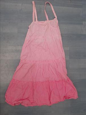OVS roze haljinica, uzrast 7-8 godina, visina 128