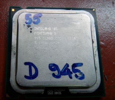 Intel Pentium D procesori za Desktop racunare 2
