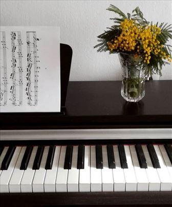 Časovi klavira, solfeđa i teorije muzike