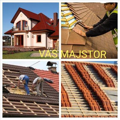 Izgradnja novih i sanacija starih krovova