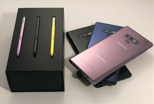 novi Samsung note 9 plus 128GB