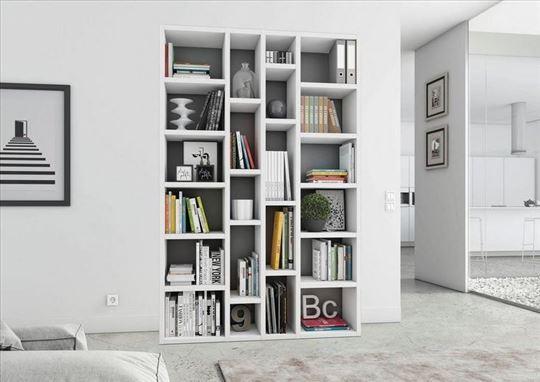 Polica - biblioteka