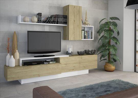 TV komoda DAVOS 240cm - vise dezena