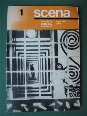 SCENA Časopis za pozorišnu umetnost 1971 br 1