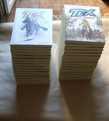 Tex Gigant Strip-agent komplet 1-33