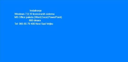 Instaliranje sistema Windows povoljno