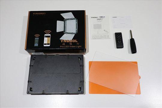 Yongnuo YN-600L Pro LED Video Light - NOVO