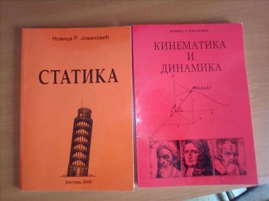 Knjige iz mehanike. Statika, kinematika i dinamika