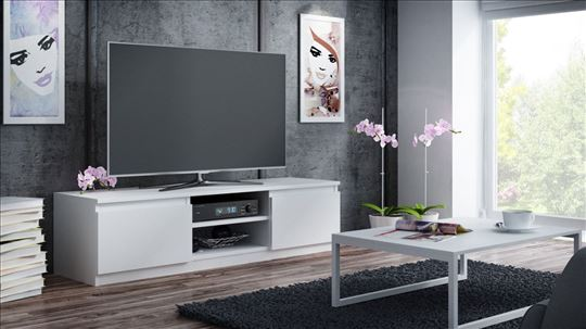 TV komoda NIKON (bela)