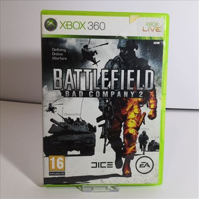 Battlefield Bad Company 2 igra za XBOX 360 konzole