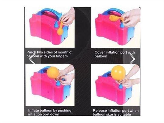 Kompresor za balone profi pumpa za balone