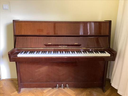 Petrof klavir u odličnom stanju