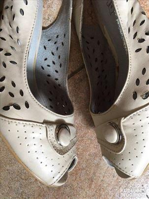 Kožne sandale br. 38