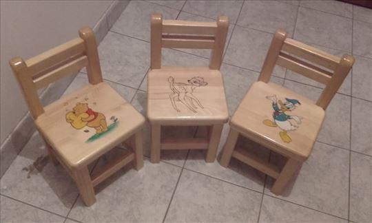 Stolice/stoličice