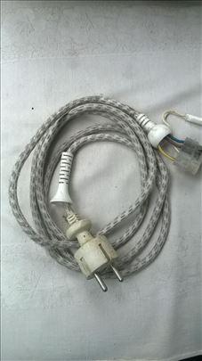 Kabl za peglu 1,95 m , 3x0.75mm² sa tinjalicom, oc