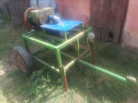 Mašina za cepanje drva cepač svrdlo