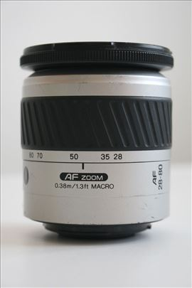 Minolta AF zoom 28-80mm 3.5-5.6 Macro za Sony Alp