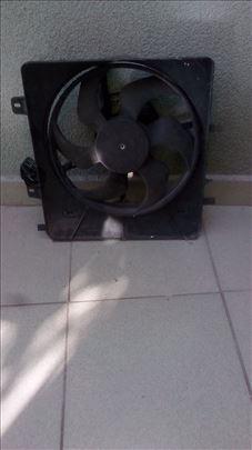 Ventilator sa nosačem za Citroen