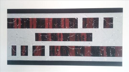 Akril na platnu 60x120 cm