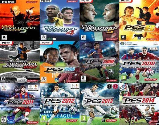 PES Pro Evolution Soccer kolekcija (čitaj opis)