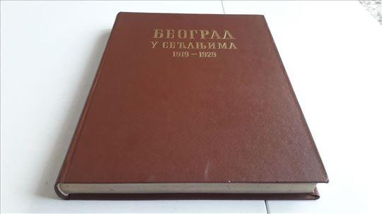 Beograd u secanjima 1919 1929 tvrd povez veci form