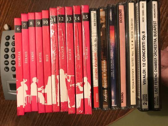 Klasična muzika, original CD-ovi