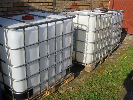 IBC kontejneri 1000 l sa slavinom remontovani