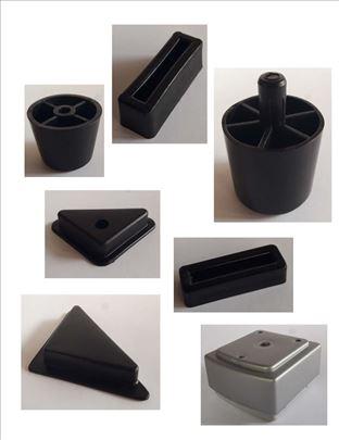 Plastične nožice za nameštaj