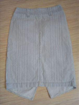Tanja teksas suknja na prugice In 4 you /S
