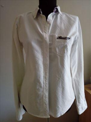 Bela košulja, pamuk 100%. Keper platno M