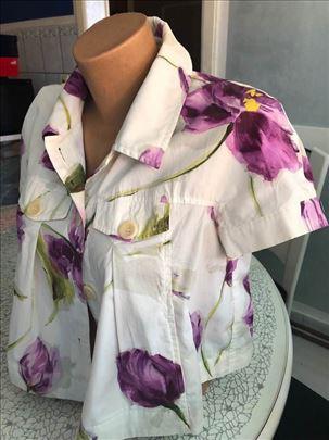 Bluza košulja kratka