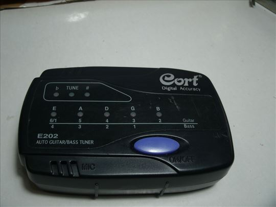 Cort E202 auto gitar Bass tuner !