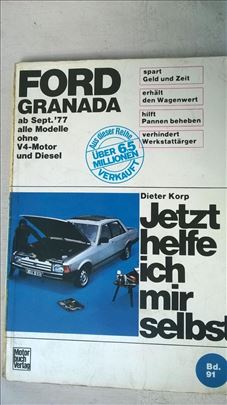 Knjiga: Ford Granada  od 1977. , 1991. 230 str. ne
