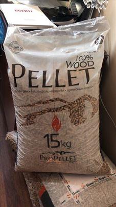 Bukov Pelet 100% drvo ekstra kvaliteta sa prevozom