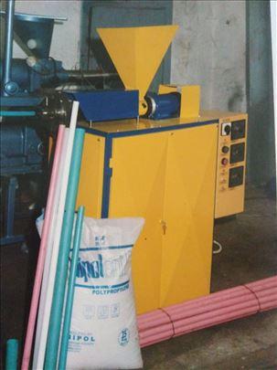 Ekstruder za proizvodnju malih plastičnih profila