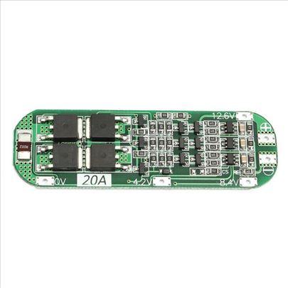 BMS-PCB 3S 20A punjac-zastita litijumskih baterija