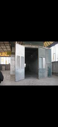 Velika komora za farbanje