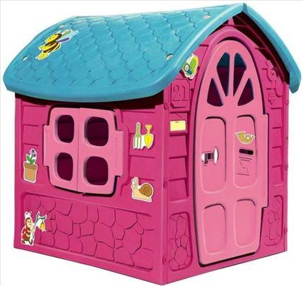 Bajkovita kućica Dohany u ljubičastoj boji