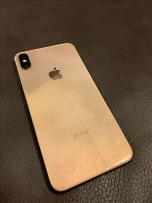 Iphone xs max gold roze 64 gb