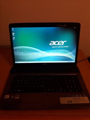 Acer Aspire 7736, 17'3 inca, 4gb ram, 160gb/kamera